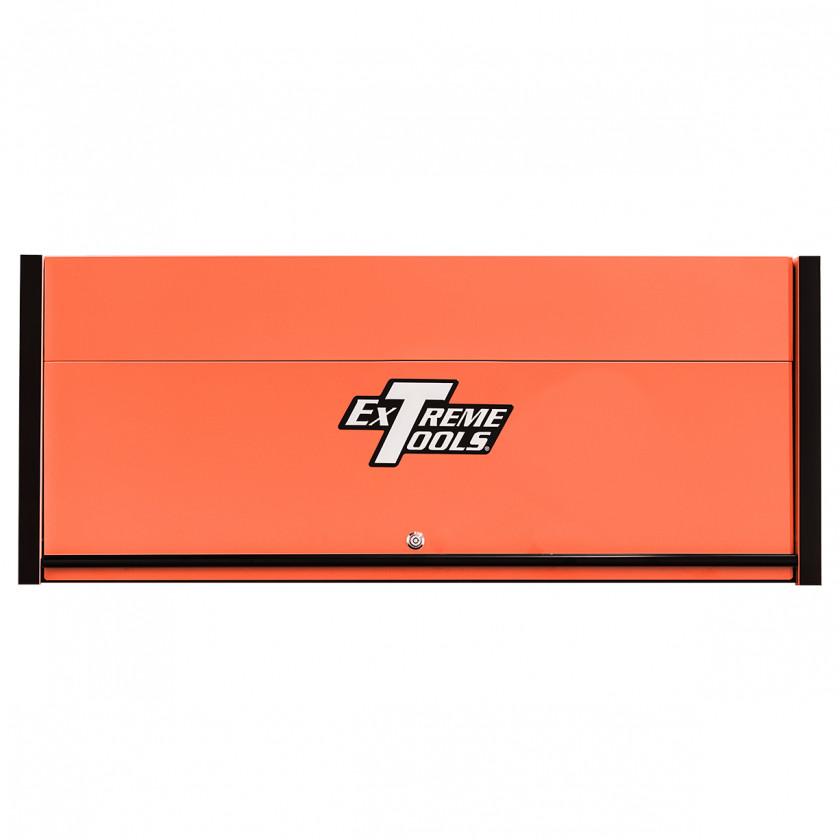 Extreme Tools RX 55 x 25 inch Worstation Hutch -RX552501HCORBK-Closed-Lid