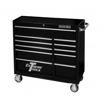"41"" 11 Self-Latching Drawers Roller Cabinet"