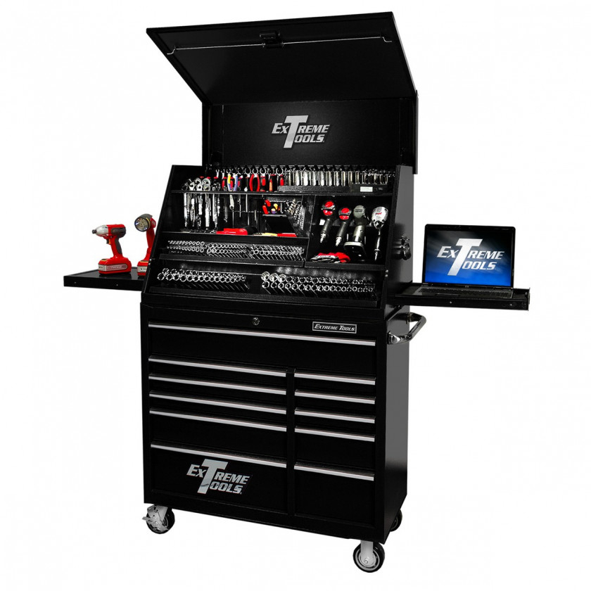"41"" Portable Tool Chest 24"" Deep Cabinet"