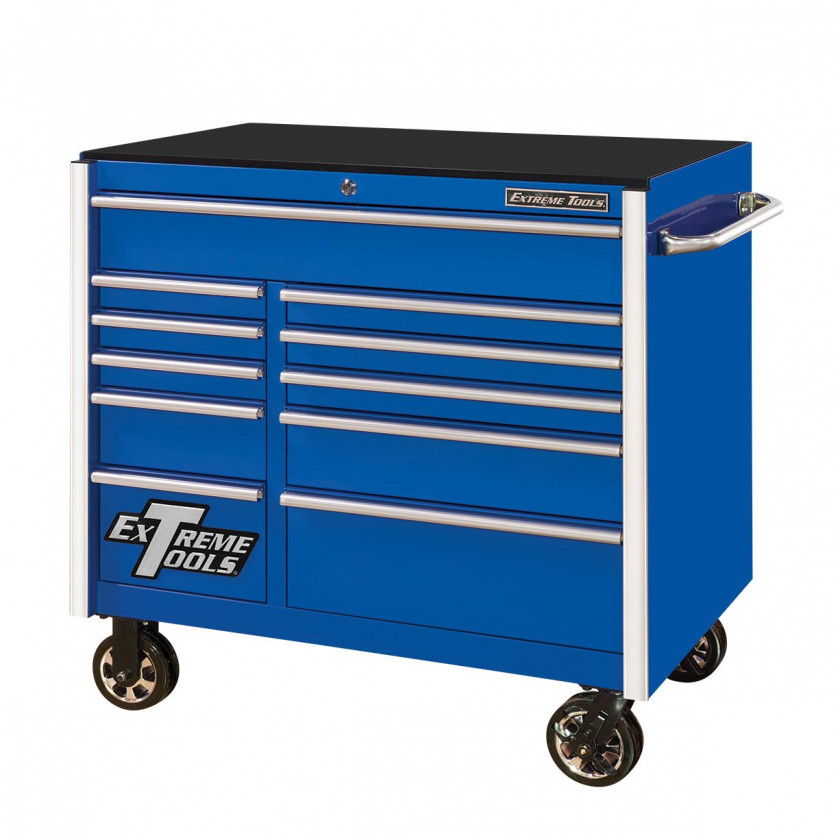 """41"""" 11 Drawers Roller Cabinet"""