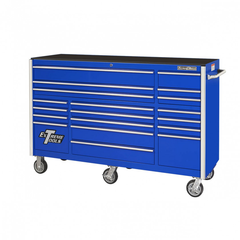 """72"""" 19 Drawers Roller Cabinet"""