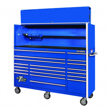 "72"" Roller Cabinet with Tool Hutch"