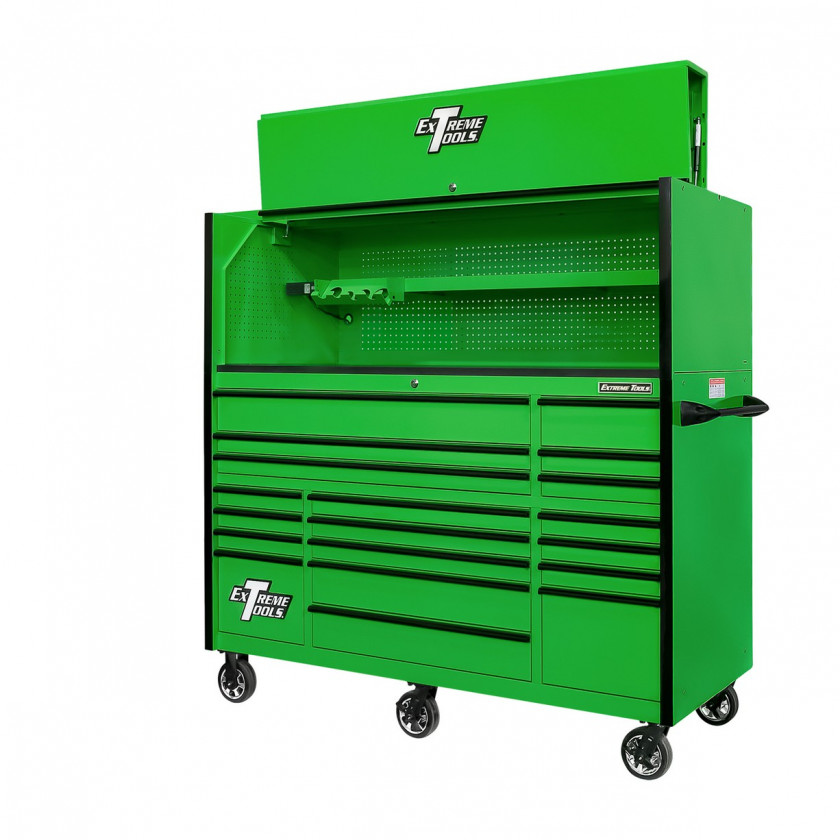 """72"""" tool cabinet with hutch"""