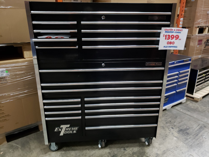 """Scratch & Dent 55"""" Roller Cabinet and Tool Chest"""