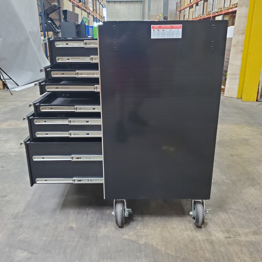 SD-RX722516RCBK _ Scratch & Dent - Extreme Tools 72in. 16 Drawers Roller Cabinet _ Black with Chrome_37