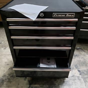 """Scratch & Dent 26"""" Roller Cabinet Black"""