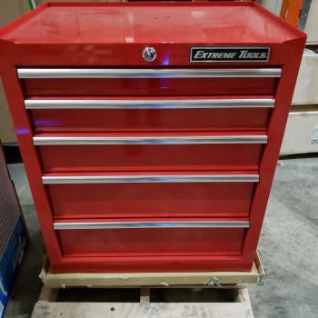 "Scratch & Dent 26"" Roller Cabinet in Red"