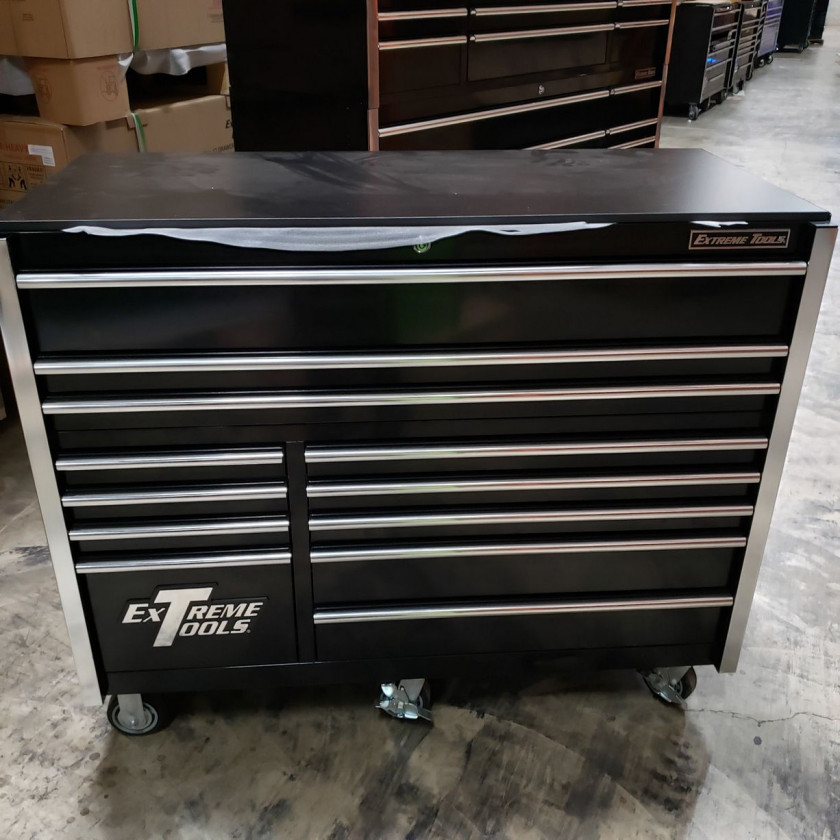 """Scratch & Dent 55"""" x 25"""" 12 Drawers Roller Cabinet"""
