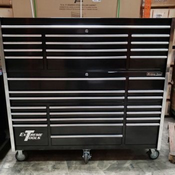 "Scratch & Dent 72"" Combo 19 Drawers Roller & 12 Drawers Top Chest"