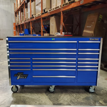 "Scratch & Dent 72"" 19 Drawers Roller Cabinet"