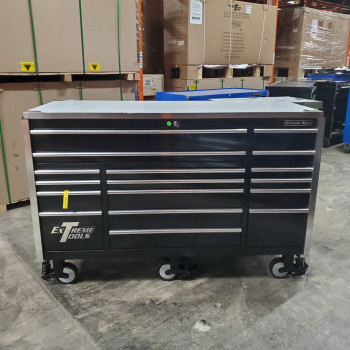 "Extreme Tools Scratch & Dent 72"" 17 Drawers Roller Cabinet"