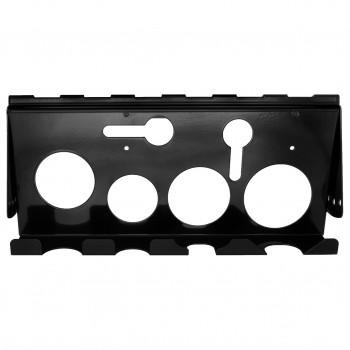 Extreme Tools Adjustable Hanging Power Tool Rack Accessory, ACPTRBK - Black