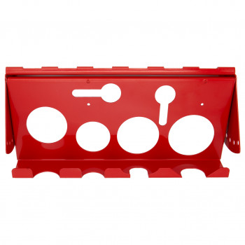 Extreme Tools Adjustable Hanging Power Tool Rack Accessory, ACPTRRD - Red