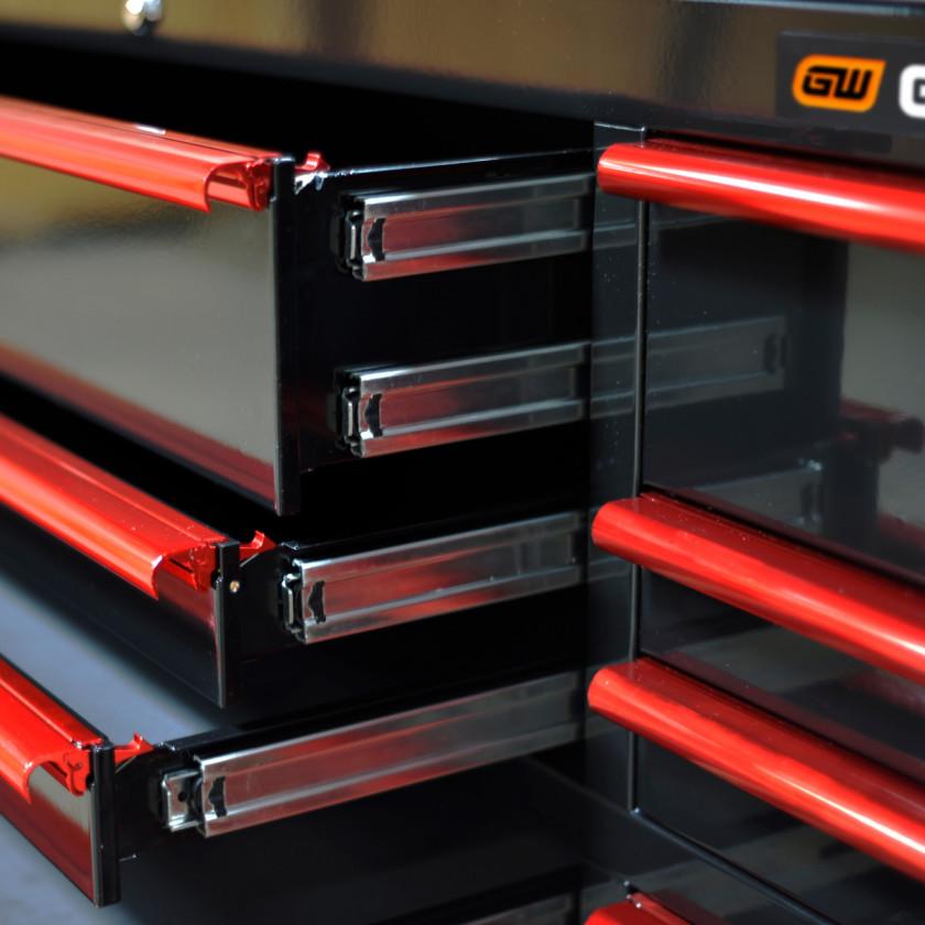 GearWrench -GW722521RCBKR-150-200lbs - Drawer Slides