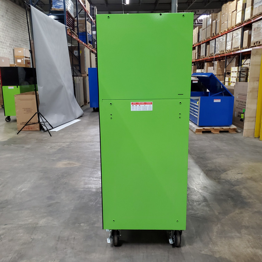 Showroom Demo Extreme Tools 72in. x 25in. Roller and Hutch Combo - Green-04