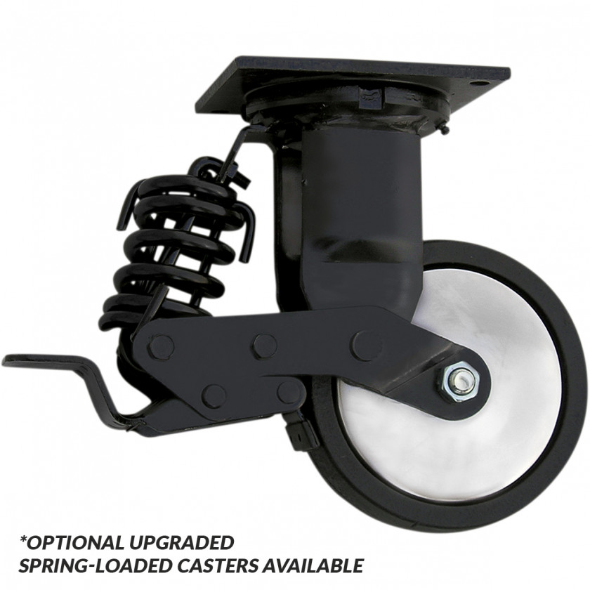 PROCASTER 6 - Professional Upgraded Spring Loaded Casters for EX7217RCQ