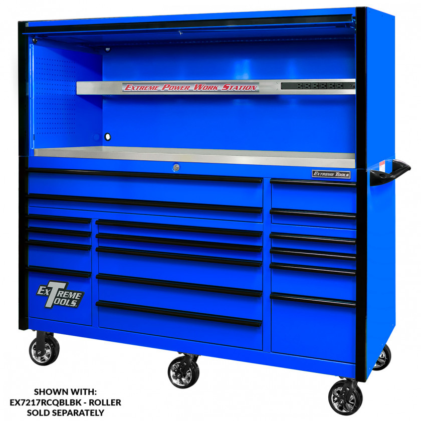 EX7217RCQBLBK WITH EX7201HCQBLBK - ROLLER AND HUTCH COMBO - RTB